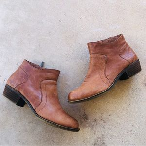Lucky brand BROLLEY BOOTIE brown leather 8